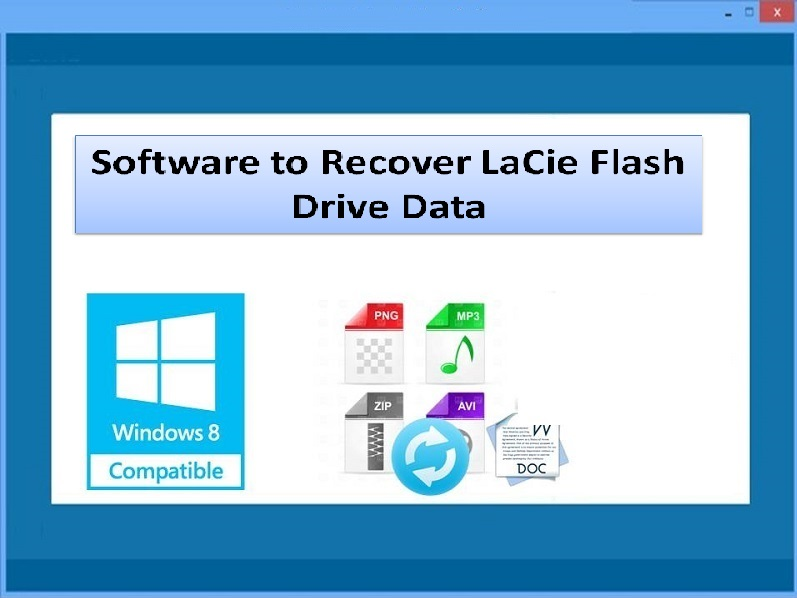 Software to recuperate LaCie flash drive data